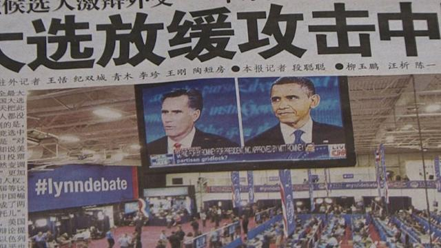 Chinese watch US election avidly