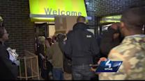 Fast-food protesters target Pittsburgh Dunkin' Donuts