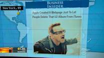 Headlines at 8:30: Apple tells users how to delete U2 album it gave away for free