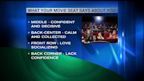 What Your Movie Theater Seat Says About You
