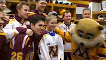 Accomplish MN: Make-A-Wish Recipient Hits The Ice With Hockey Heroes