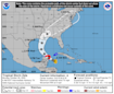 Zeta will be a Cat 1 hurricane soon, and it's forecast to near the Gulf Coast this week