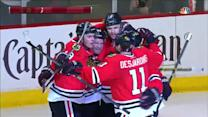 Seabrook buries a dish from Toews five-hole
