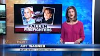 Fallen firefighters remembered on anniversary of fatal fire