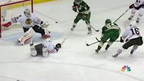 Granlund fakes out Crawford with backhander