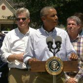 President Obama Pledges to Rebuild Louisiana After Surveying Flood Damage