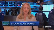 Market opens: Stocks hesitating after record highs