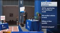 Fiat recall safety hearing