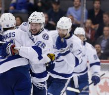 NHL Three Stars: Tampa dominates Toronto; Elliott wins in St. Louis return