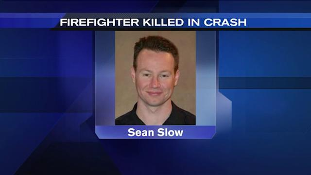 Firefighter killed in motorcycle crash