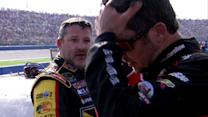 Stewart confronts Truex Jr. after Fontana race