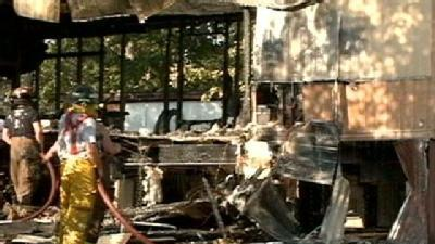 Child At Mobile Home Fire Sees Unfortunate Injury