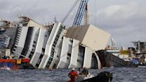 Raw: Capsized Ship Cleared for Removal