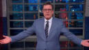 Stephen Colbert Mocks Melania's Jacket: Was 'Womp Womp' Your First Choice?