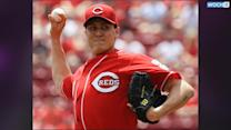 Reds' Bailey Leaves Game With Pain In Knee (Yahoo Sports)