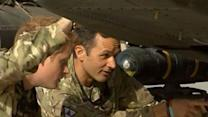 Raw Video: Prince Harry in Afghanistan