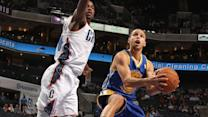 Curry Fakes out Bobcats