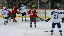 Roy gets denied by John Curry's glove