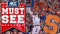 Syracuse's C.J. Fair Drives and Jams Against Duke | ACC Must See Moment
