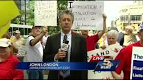 Downtown protest targets IRS