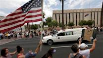 Procession brings home fallen Arizona firefighters