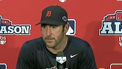 Tigers ride Verlander to beat A's, move to ALCS