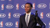 Stephen Curry Named NBA MVP