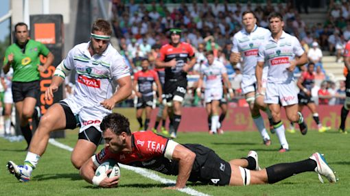 Rugby Union - Toulon, Racing back on track in Top 14