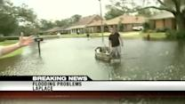 LaPlace copes with heavy flooding from Isaac