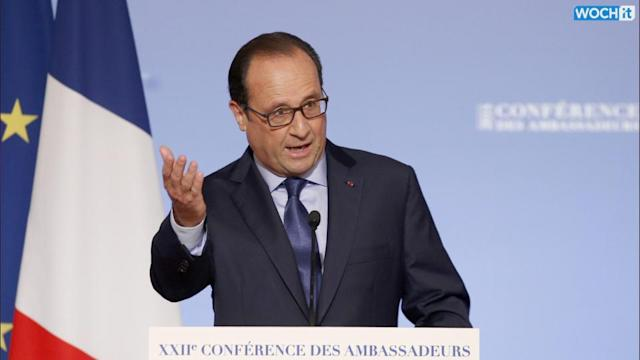 France's Hollande Says Assad No Ally In Fight Against Islamic State