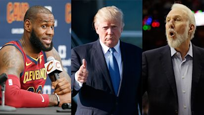 NBA appears ready to unite against Trump