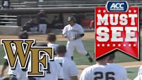 Wake Forest Wins in Walk-Off Fashion | ACC Must See Moment