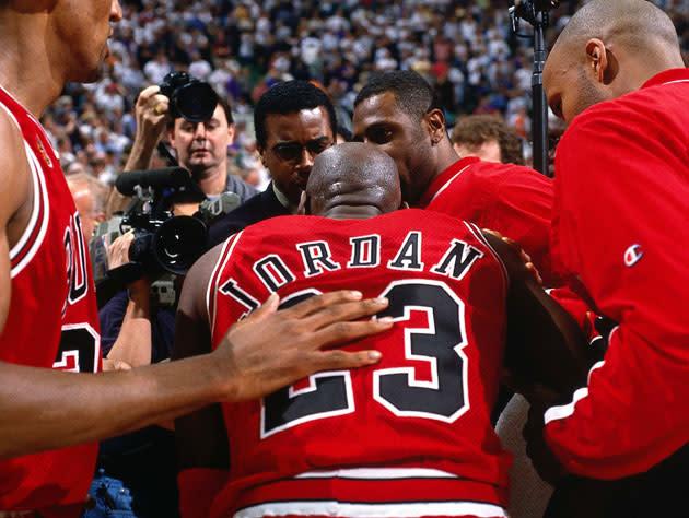 Plying Michael Jordan with applesauce helped get MJ ...
