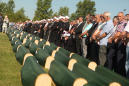 Funeral service held for 86 Muslims killed by Serbs