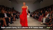 Ralph Lauren's Spring 2013 Collection at New York Fashion Week
