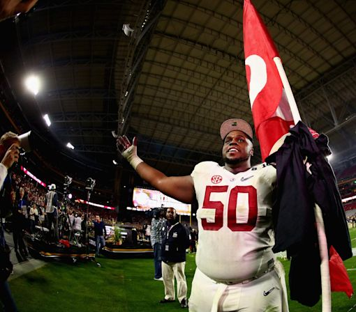Alabama OL Alphonse Taylor not guilty of DUI charge