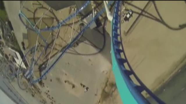 Cedar Point releases GoPro video of GateKeeper ride