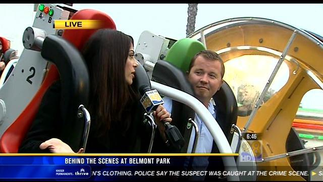 Behind the scenes at Belmont Park