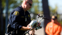 Police departments are thinking about using drones armed with stun guns