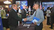Hiring Our Heroes job fair for military vets