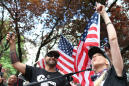 Violence erupts after right-wing group holds Oregon march