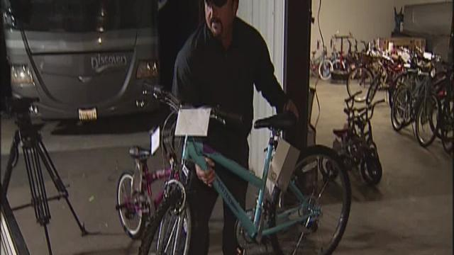 Group Provides Free Bicycles To Area Children