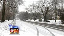 Roads Slick, Power Outages Possible As Winter Hits Region Again