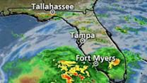 Tropical Storm Andrea Arrives in Gulf of Mexico