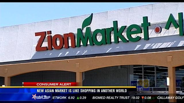 New Asian market is like shopping in another world