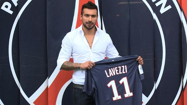 Lavezzi no Paris Saint-Germain