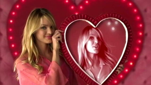 Victoria's Secret Models Offer Valentine's Day Gift Ideas