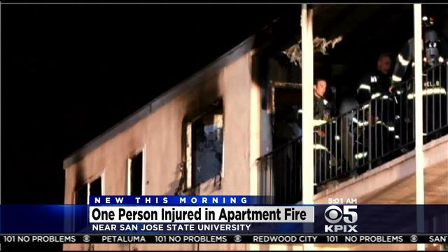 San Jose Apartment Fire Blamed On Distracted Candle Lighting