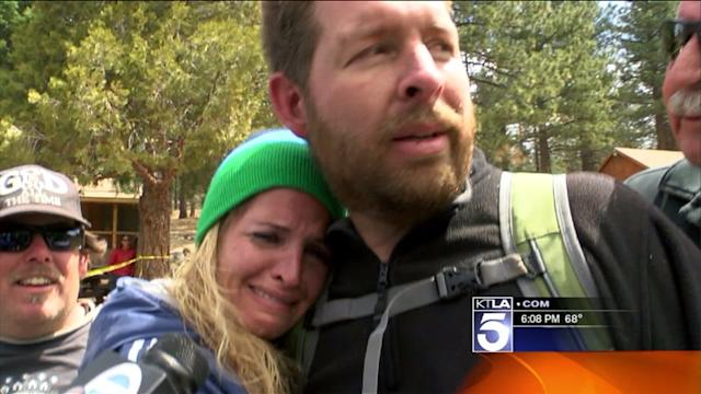 Hikers Missing in Big Bear Reunited With Family Members