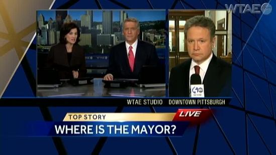 Report: Friend says Pittsburgh Mayor Luke Ravenstahl dealing with 'personal issues'